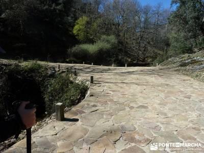 Pico Rocigalgo - Cascada del Chorro [Parque Nacional de Cabañeros] imagenes de senderismo ruta lag
